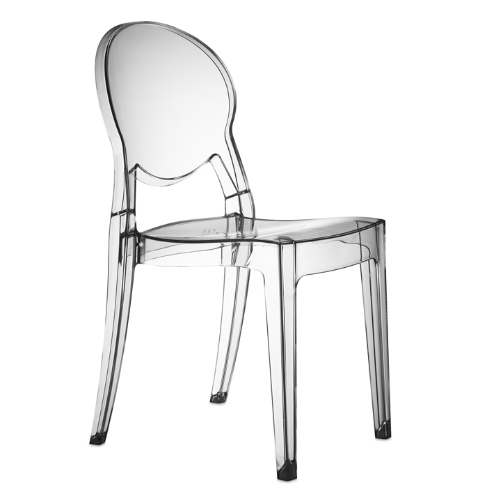 Igloo Chair spisebordsstol i klar transparent