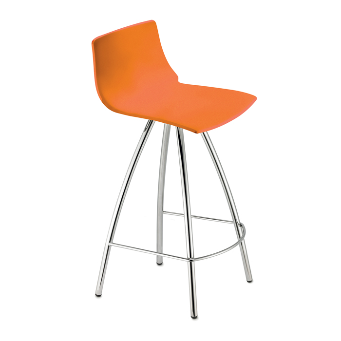 Image of   Barstol - Day i orange 65 cm