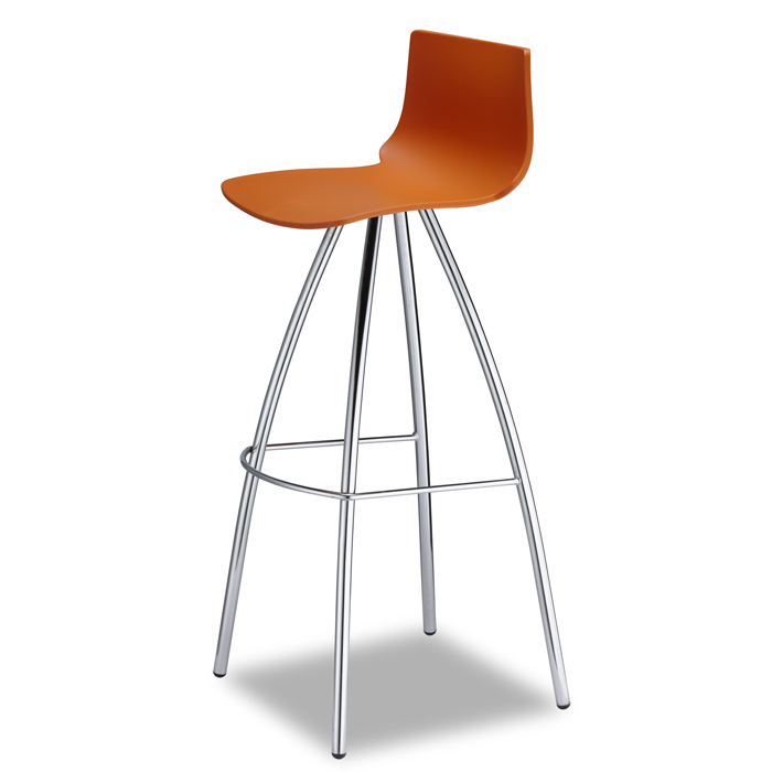 Image of   Barstol - Day i orange 82 cm