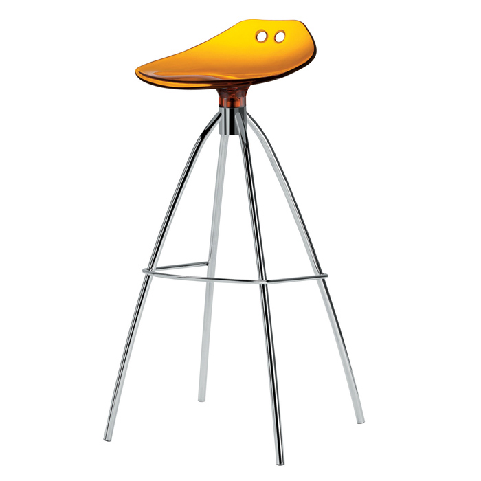 Image of   Barstol - Frog orange 80 cm