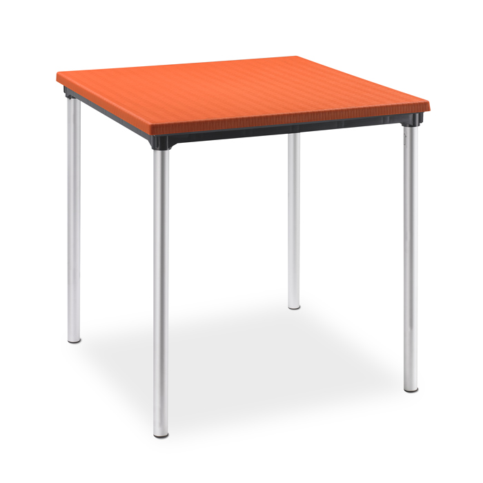Image of   Cafebord 70*70 cm orange